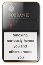 Sobranie KS SS Black (mini) Cigarette Pack