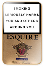 Esquire Golden Title Cigarette Pack