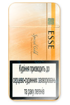 ESSE Special Gold 100's Cigarette Pack