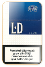 LD Blue Cigarette Pack