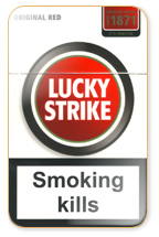 Lucky Strike Original Red Cigarette Pack