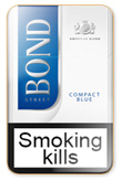 Bond Compact Blue Cigarettes pack