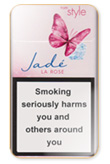 Style Jade Super Slims Rose Cigarettes pack
