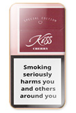 Kiss Super Slims Cherry Cigarettes pack