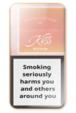 Kiss Super Slims Mango Cigarettes pack