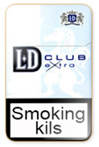 LD Extra Club Blue Cigarettes pack