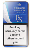 Parker & Simpson Compact Blue Cigarettes pack