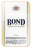 Bond One Cigarettes pack