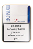 Bond Street Blue Selection 25 Cigarettes pack