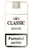 Classic Slims Silver Cigarettes pack