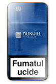 Dunhill Fine Cut Dark Blue 100`s Cigarettes pack
