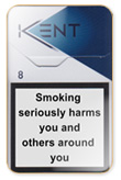 Kent Premium Lights Nr. 8 (Futura) Cigarettes pack