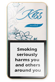 Kiss Super Slims Menthol 100's Cigarettes pack
