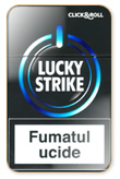 Lucky Strike Click and Roll Cigarettes pack