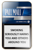 Pall Mall Silver Cigarettes pack