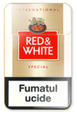 Red&White American Special Cigarettes pack