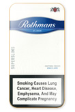 Rothmans Super Slims Blue Cigarettes pack