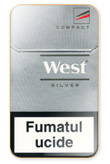 West Silver Compact Cigarettes pack