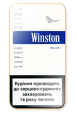 Winston Super Slims Blue 100`s Cigarettes pack