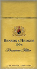 BENSON HEDGE GOLD BOX 100