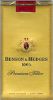 BENSON HEDGE GOLD SP 100