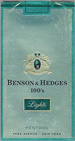 BENSON HEDGE LIGHT MENTHOL SP 100