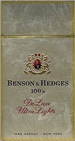 BENSON HEDGE ULTRA LIGHT BOX 100