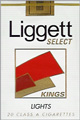 LIGGETT SELECT LIGHT SOFT KING