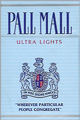 PALL MALL ULTRA LIGHT BOX KING